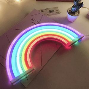 regenboog liggend
