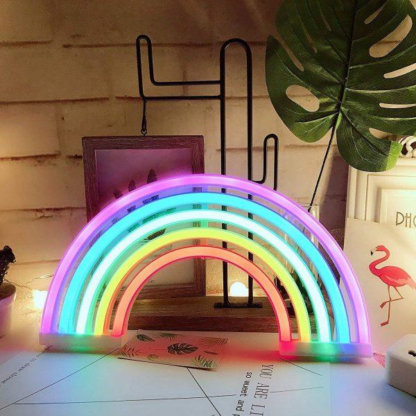 regenbooglamp bureau