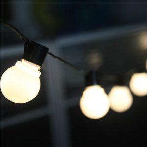 Lichtsnoer buiten