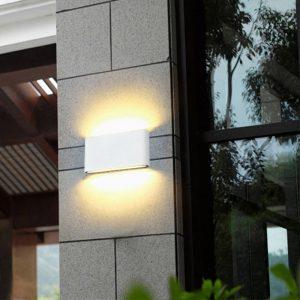 Waterdichte outdoor wandlamp