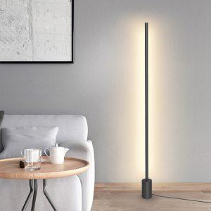 Staande lamp Tromsø zwart